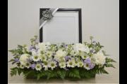 電飾額 写真前装飾花