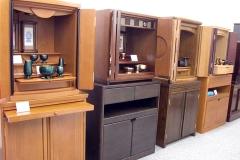デザイン仏壇 コーディアル 西台ショールーム内商品展示