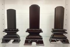 デザイン仏壇 コーディアル 西台ショールーム商品展示 位牌