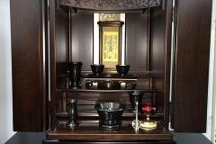 デザイン仏壇 コーディアル 西台ショールーム商品展示 お仏壇